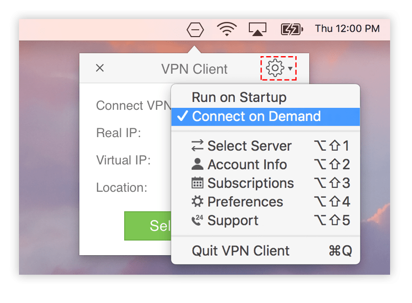 vpn connect