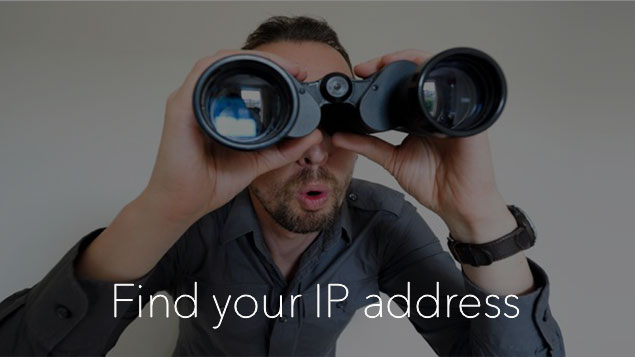 IP address - find on Mac