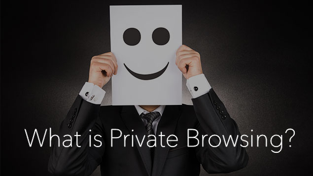 what does private browsing mean