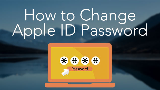 change apple id password Mac