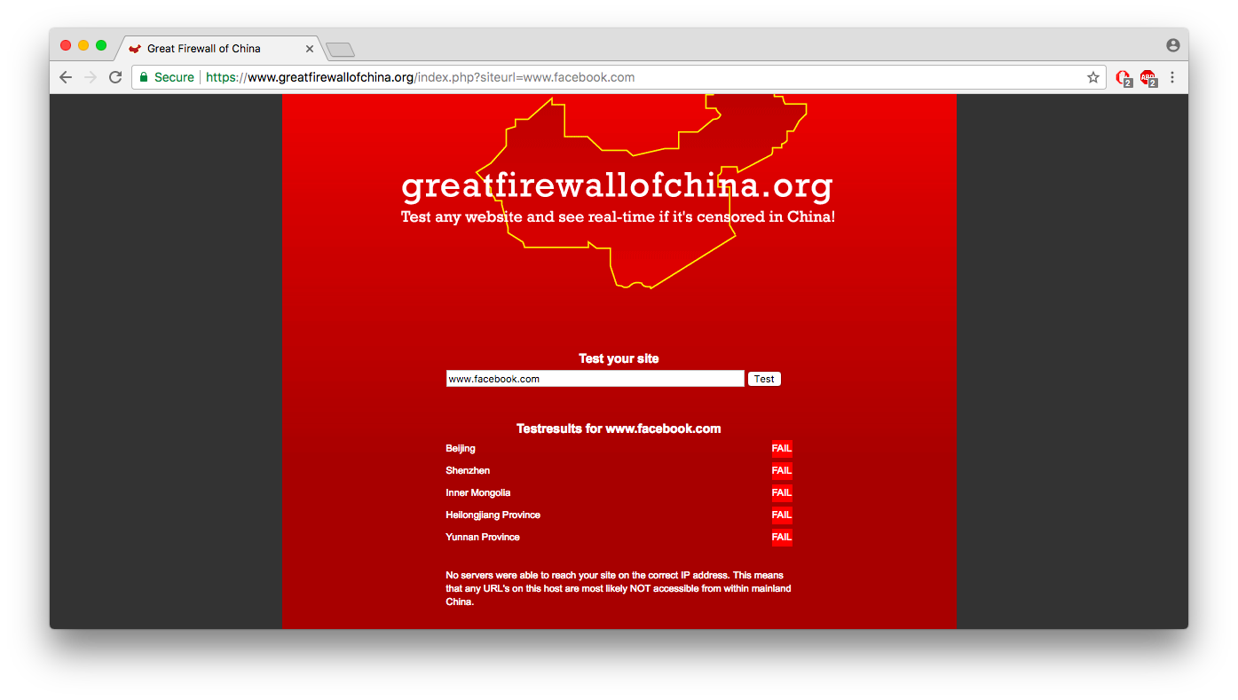 Websites blocked in China  How to unblock them? |Blog