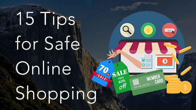 safe online shopping