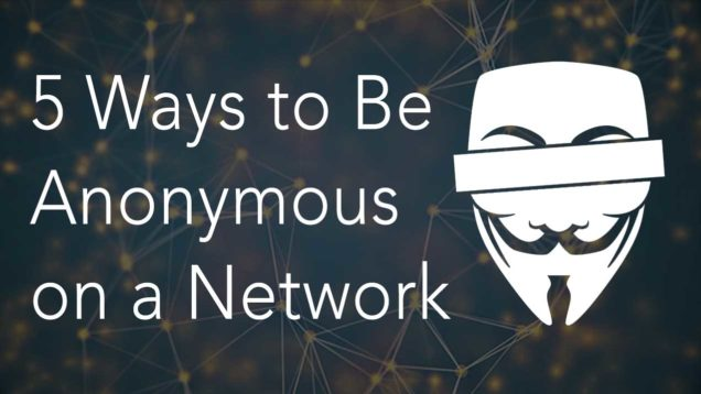 anonymous on the Internet