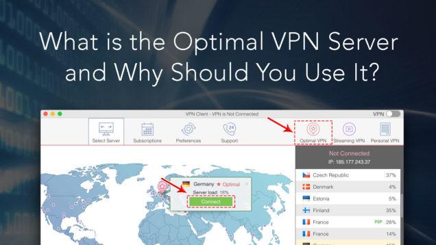 vpn - optimal server
